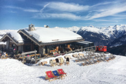 The Cave des Creux restaurant in Courchevel