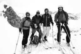 Off piste skiing and ski touring in Courchevel
