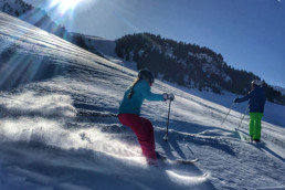 Private ski lessons for kids in Courchevel and Meribel