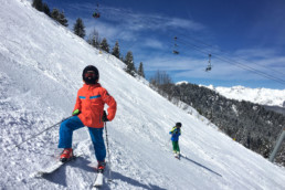Advanced kids private ski lessons in Courchevel and Meribel