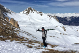 Off piste guiding and ski touring in Courchevel