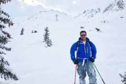 Off piste guiding in Meribel and Courchevel