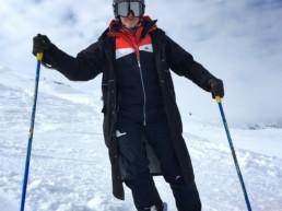 Private ski instructor Stephen Down in Meribel