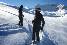 Private ski lessons and guiding in Courchevel Moriond