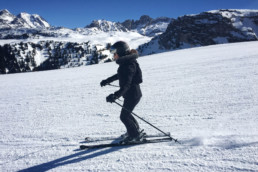 Ski lessons for advanced skiers in Courchevel